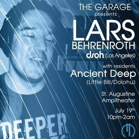 Lars Behrenroth at Lars Behrenroth At The Garage in Saint Augustine, Florida